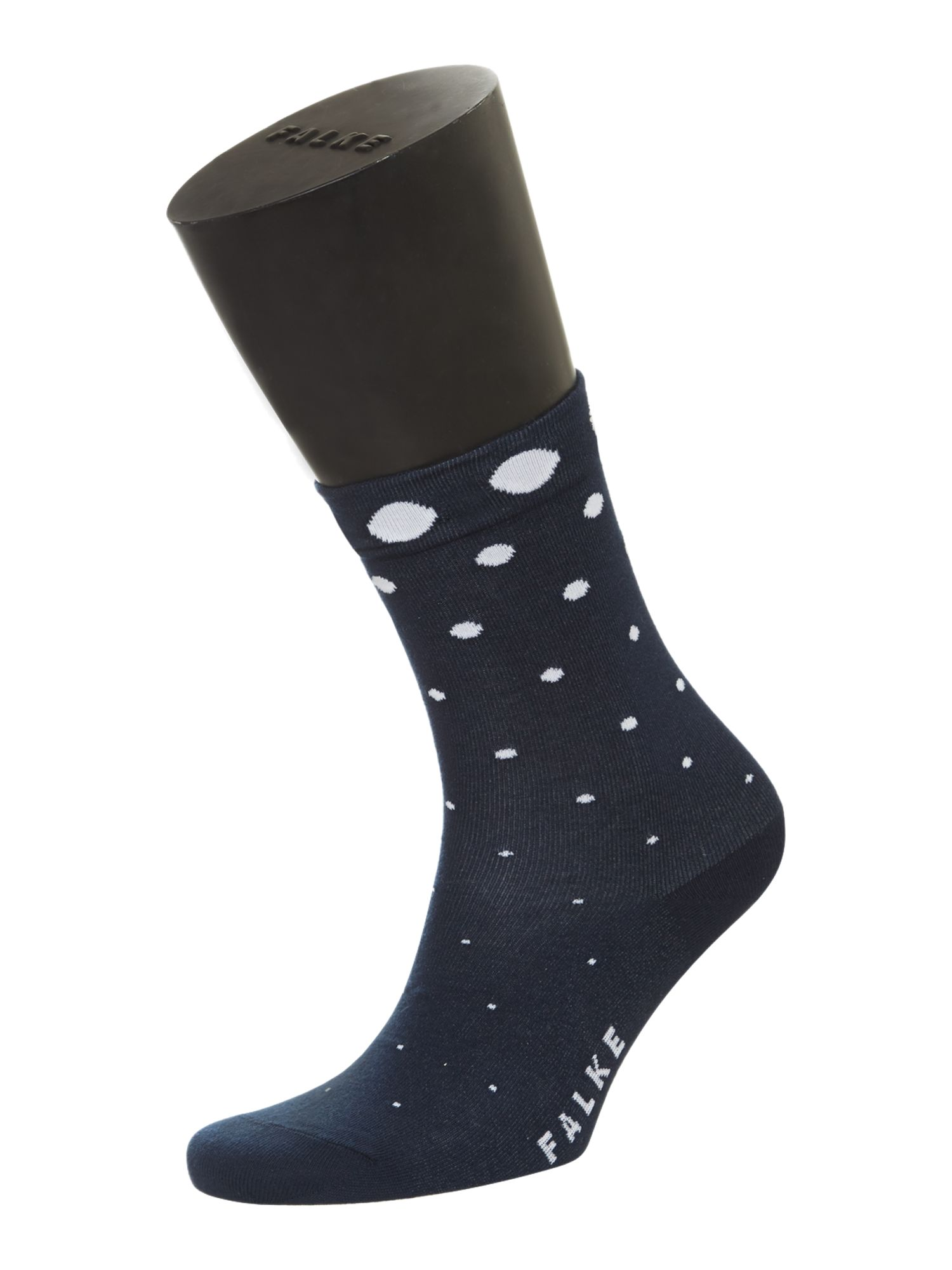 Degradee dots ankle socks