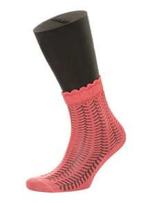 Romantic lace ankle socks