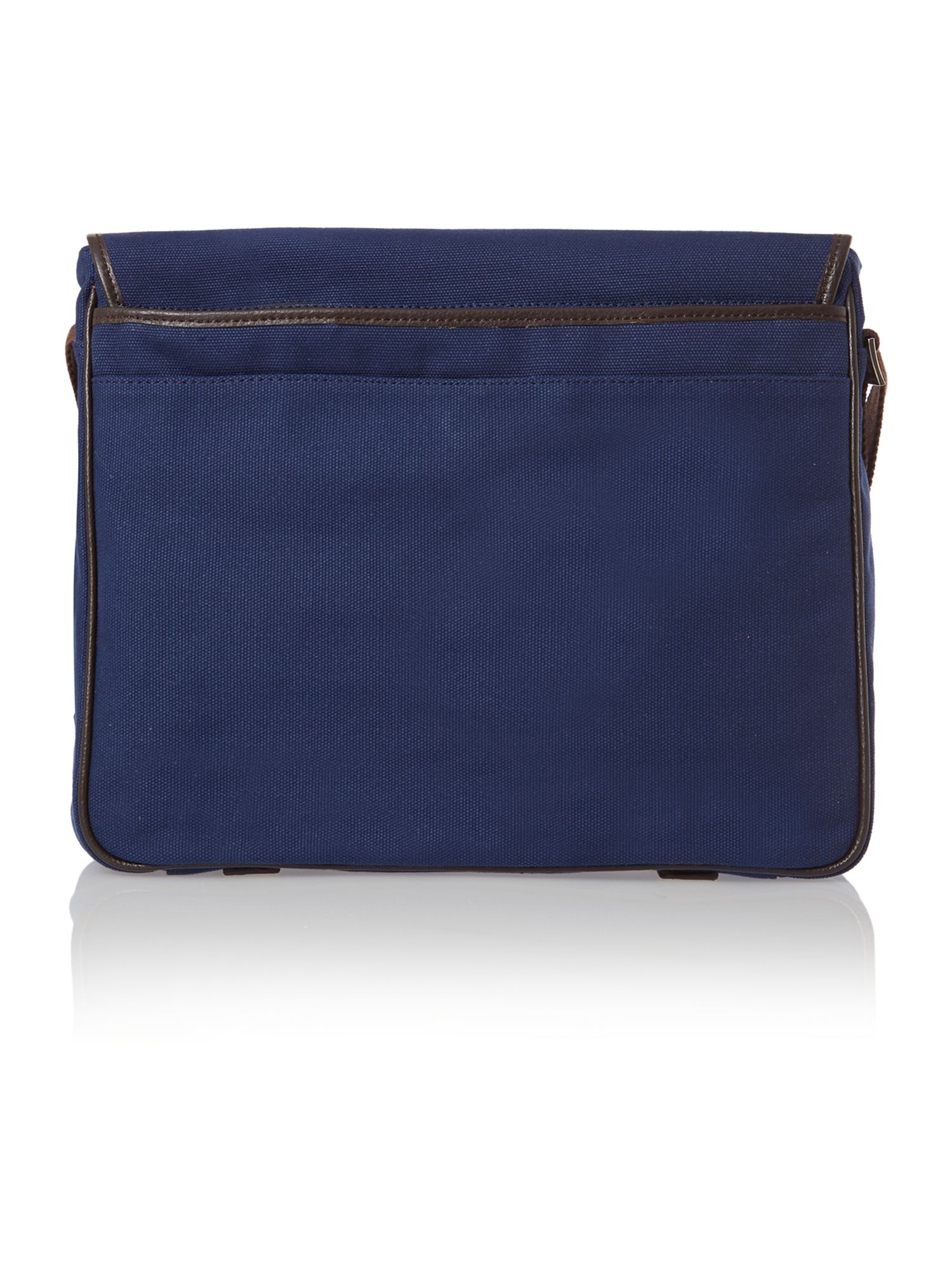 Hastings canvas messenger bag