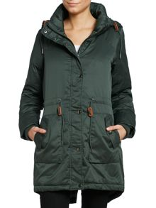 Luxury down parka