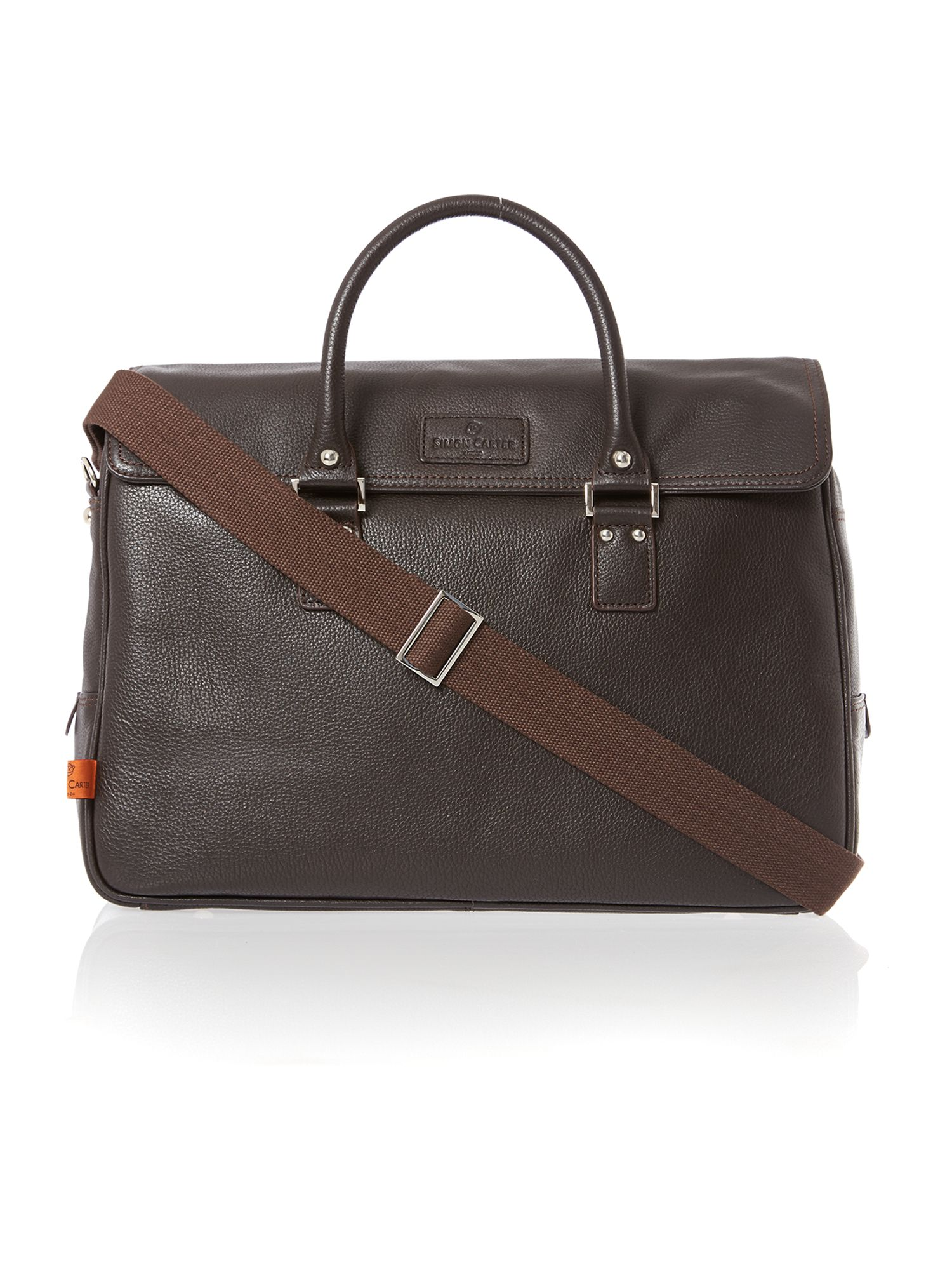Lewis leather work bag