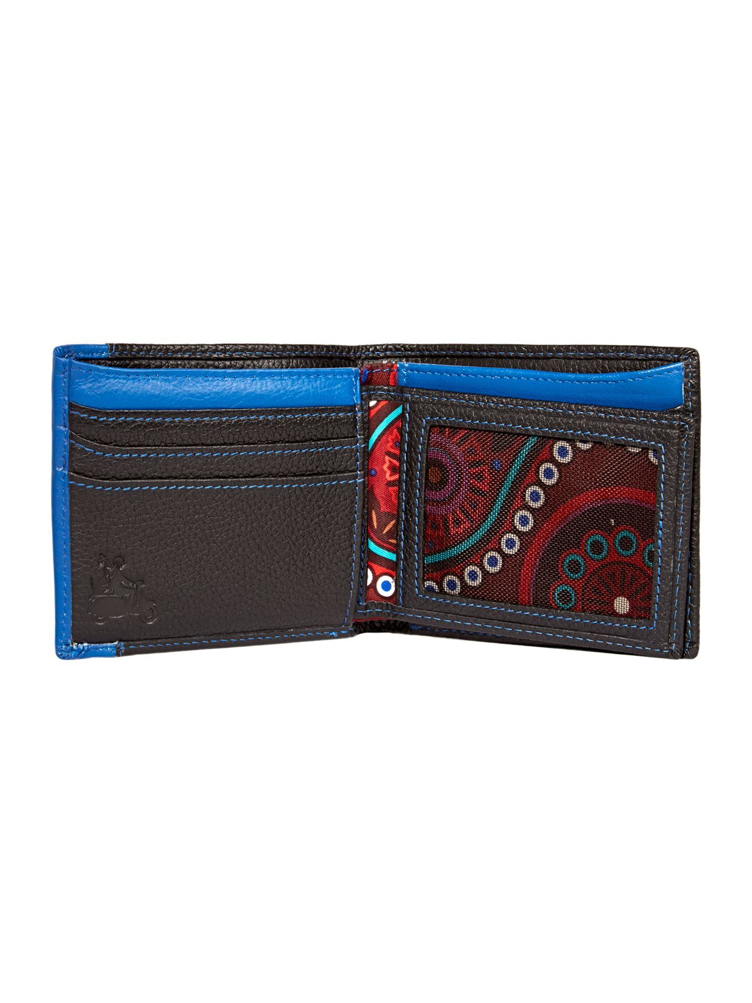 Billfold wallet with credit card holder