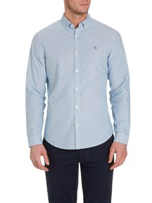 Long sleeve striped heritage fit shirt