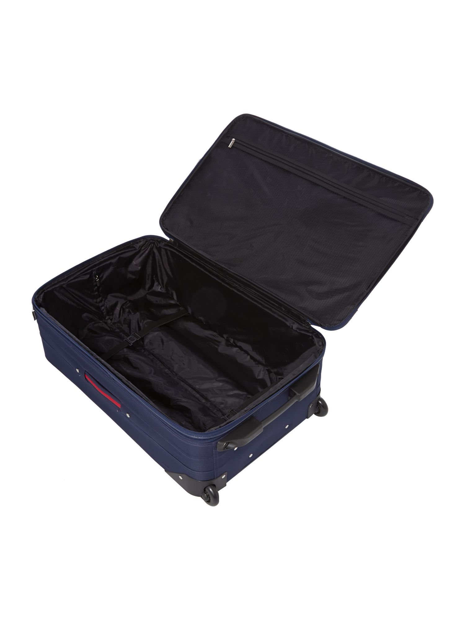 Brixham large navy suitcase