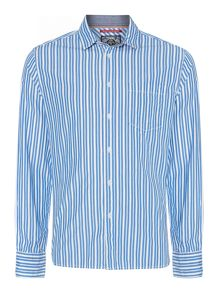Sacramento stripe long-sleeved shirt