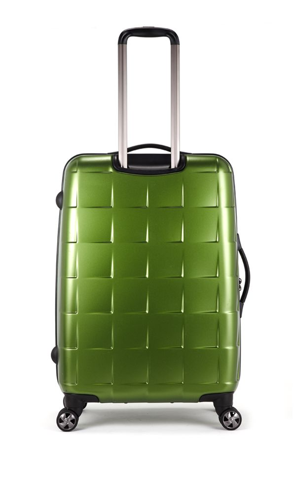 Camden Matt Pea Green medium suitcase