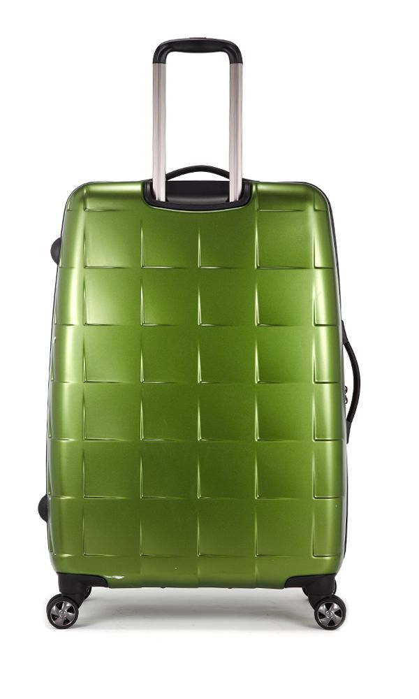 Camden Matt Pea Green large suitcase