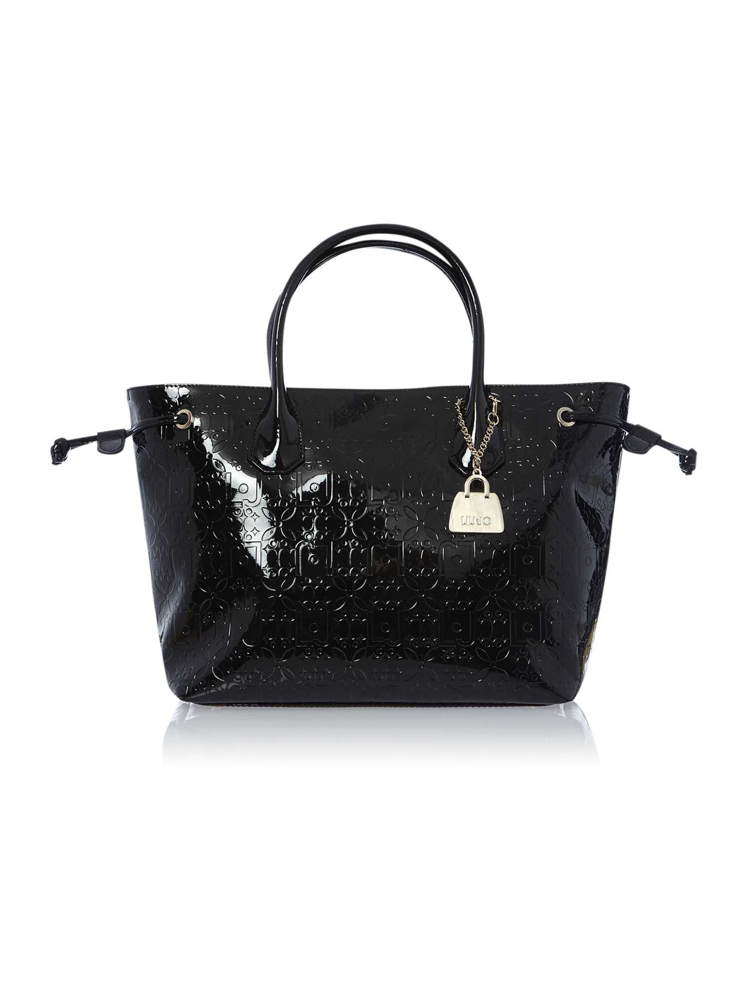 Melanie black tote bag