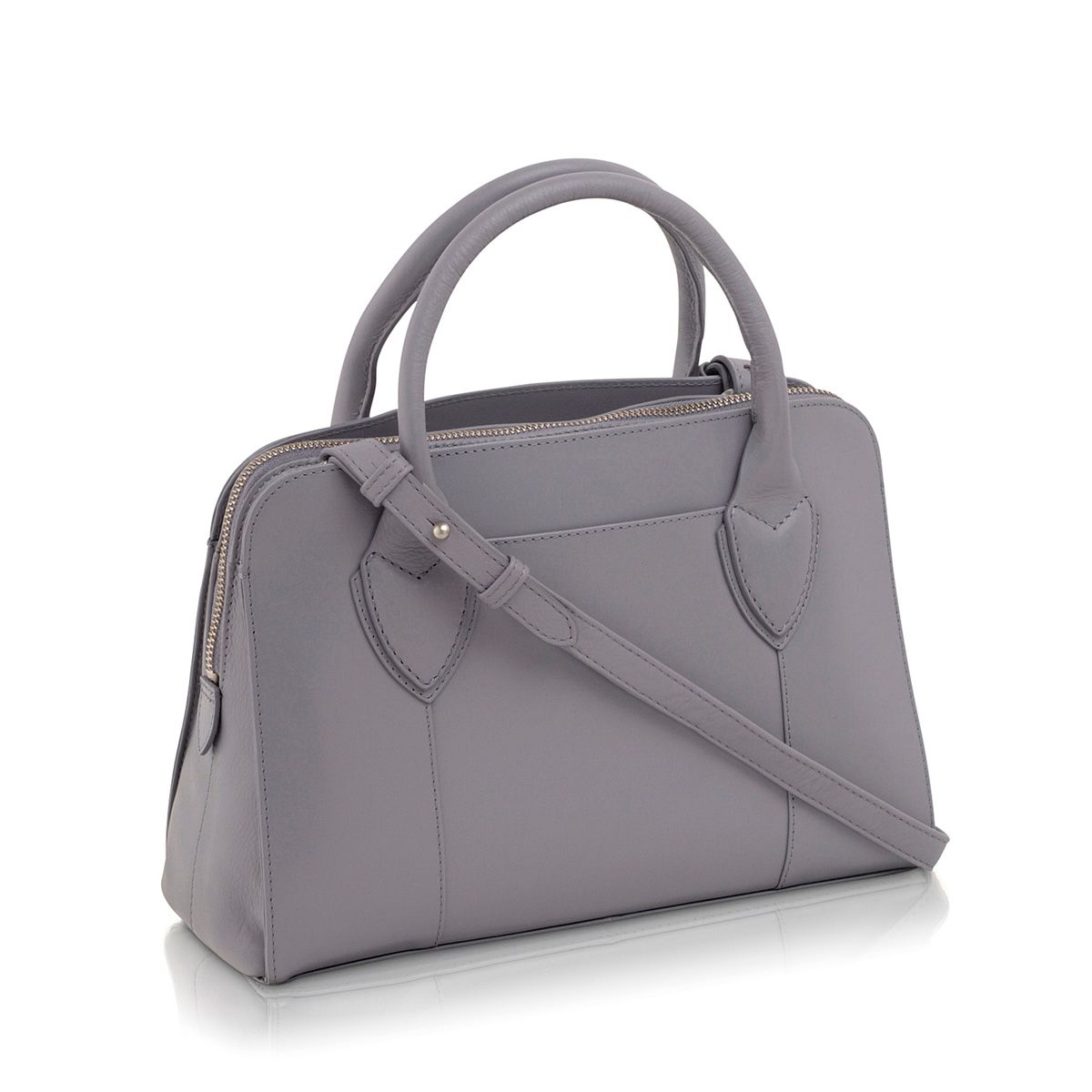 Aldgate purple medium cross body tote bag