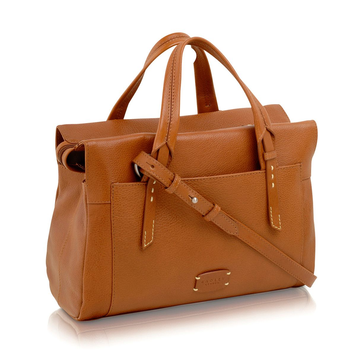 Barnsley tan medium cross body tote bag