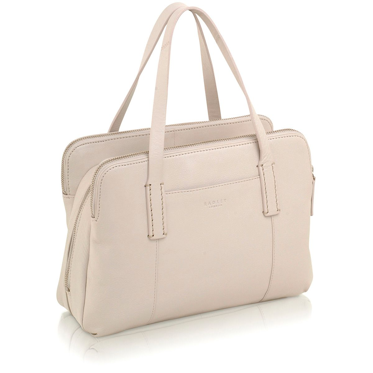 Bayer cream medium tote bag