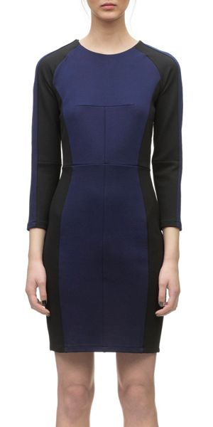 Whistles Pearl bodycon jersey dress