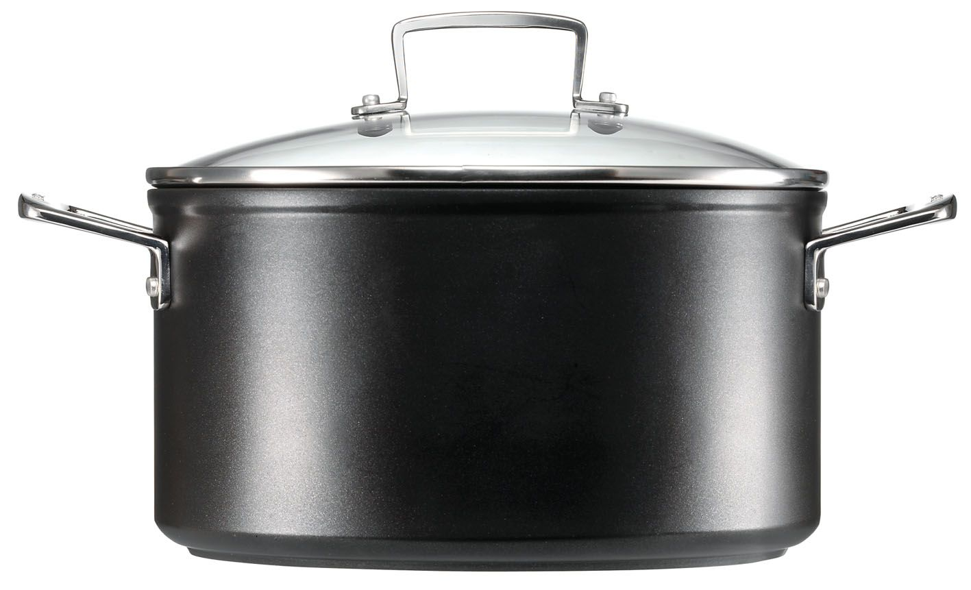 TNS 24cm Deep Casserole with Glass Lid