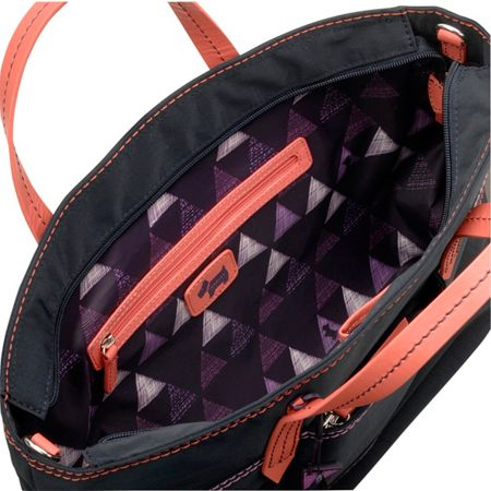 Radley Forbes purple medium crossbody tote bag
