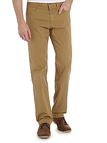 Hugo Boss Rib Straight Leg Trouser