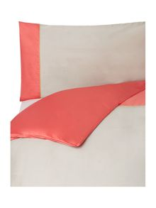 Colourblock double duvet cover