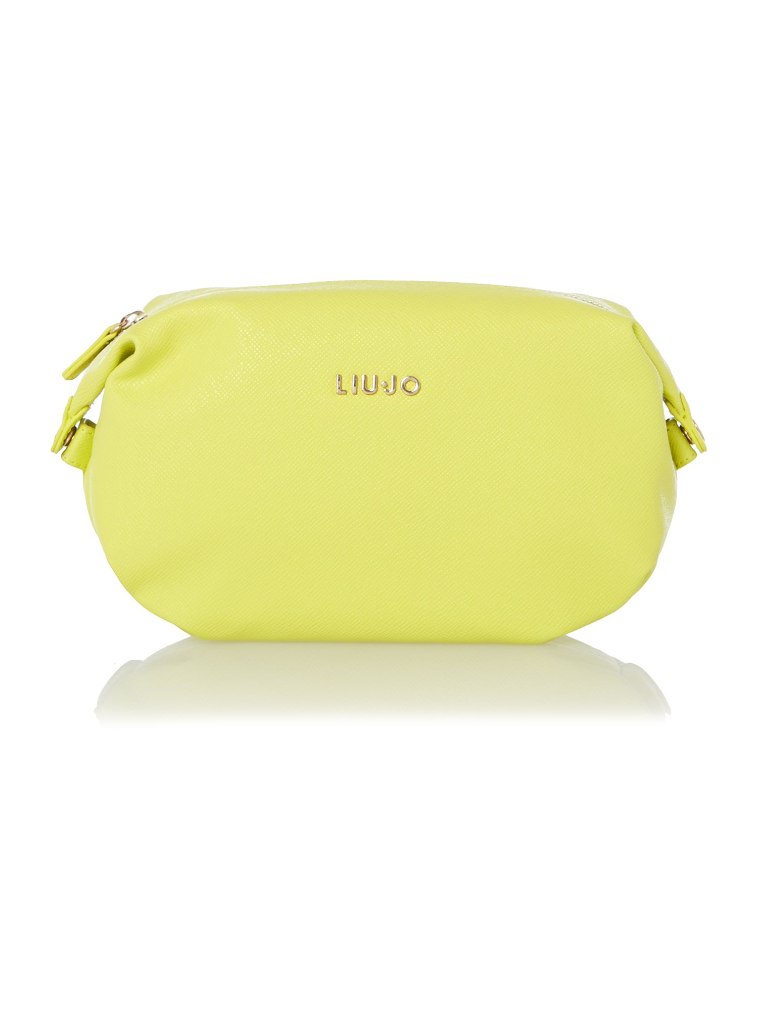 Anna yellow cosmetic bag