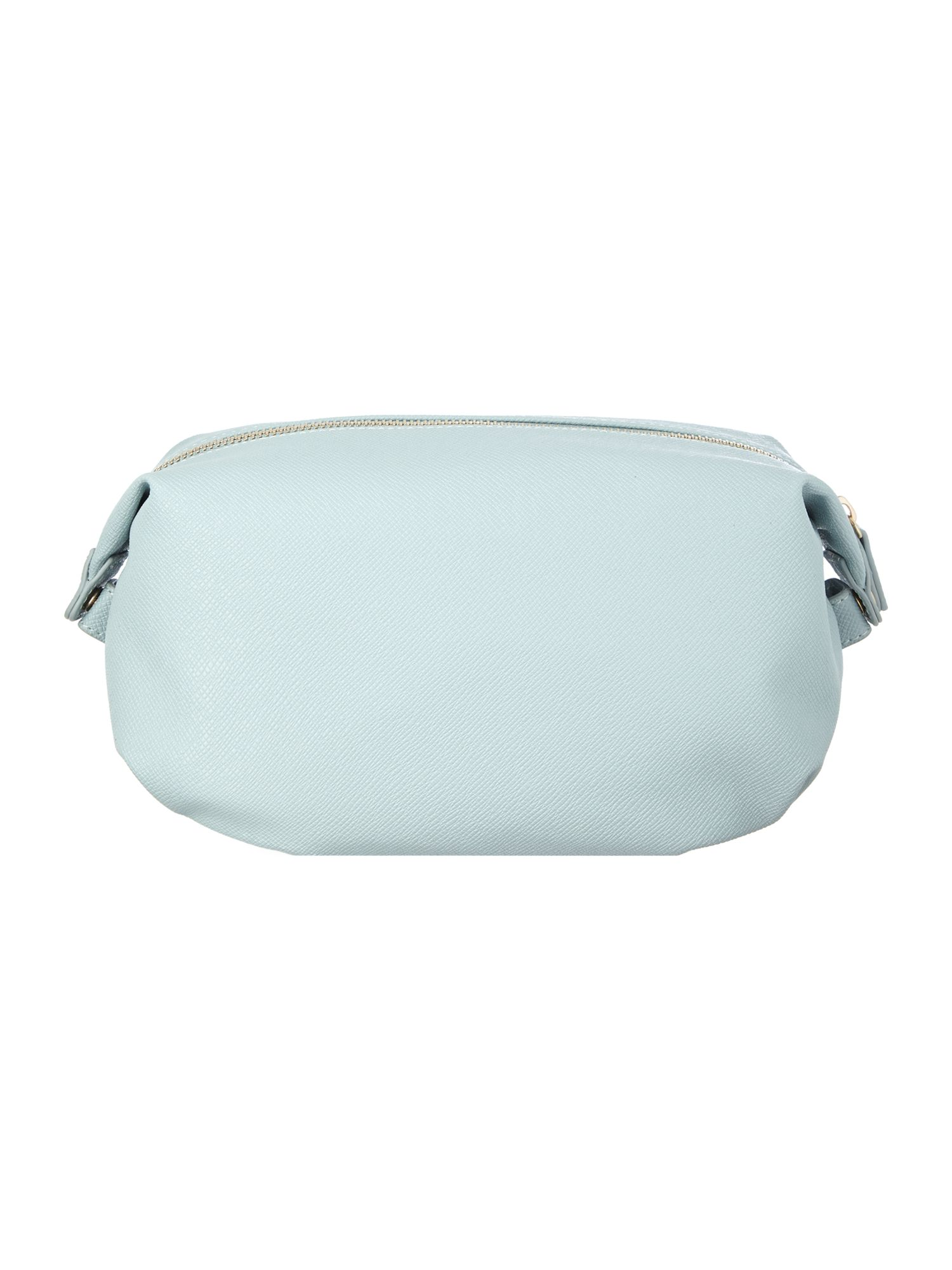 Anna blue cosmetic bag