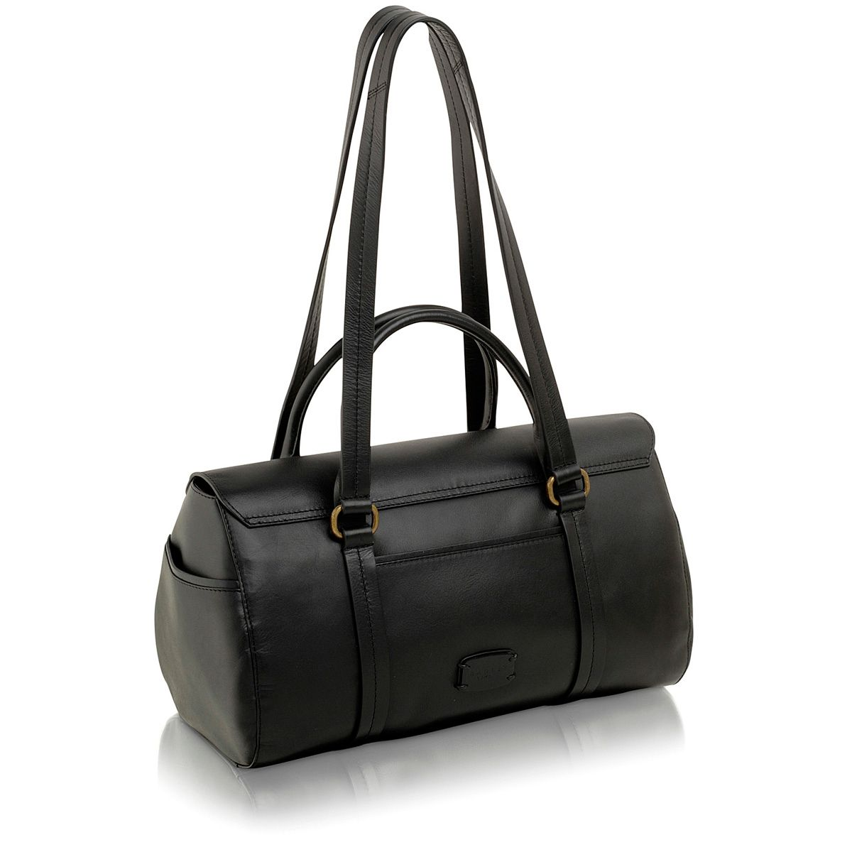 Black large bowling bag