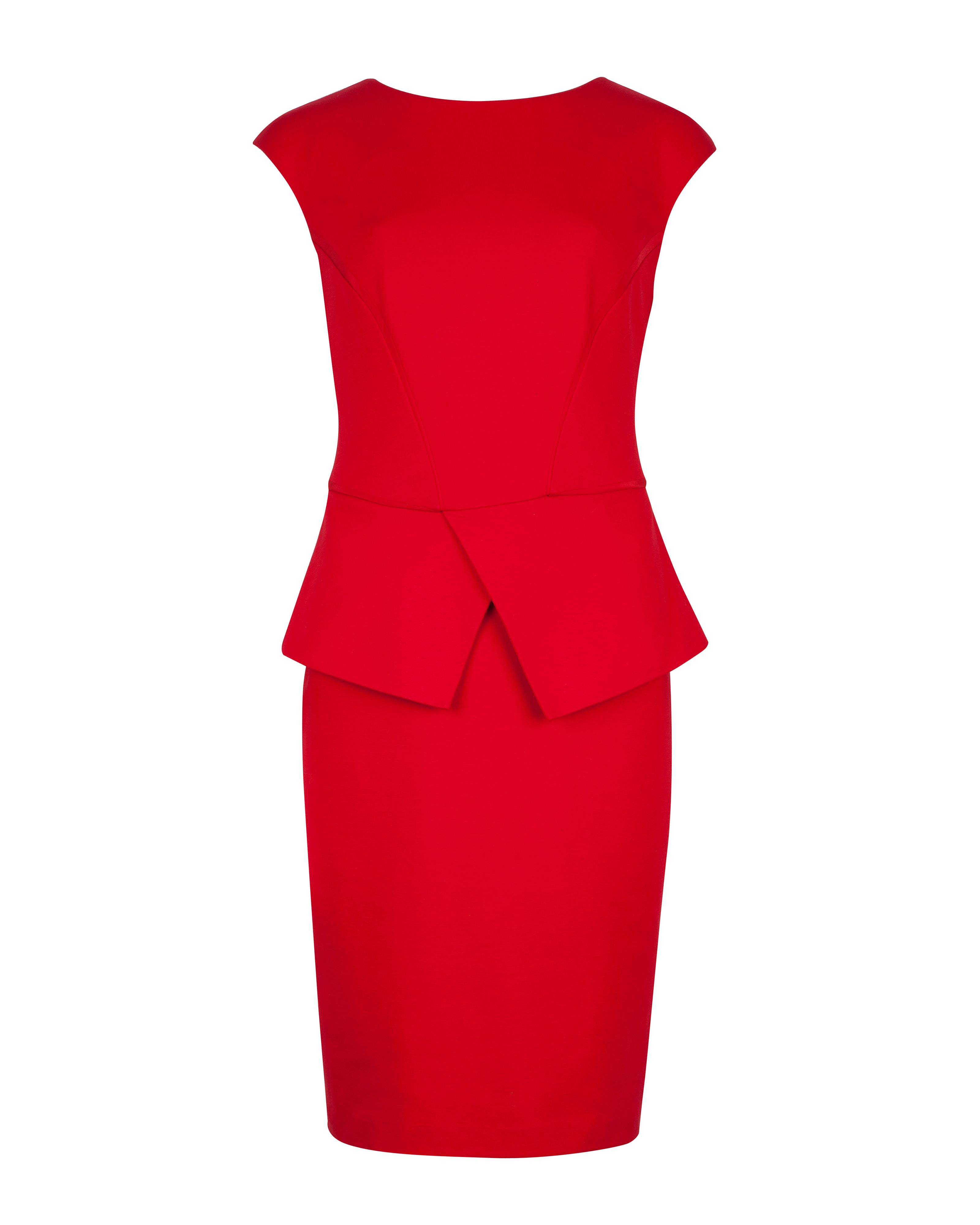 Evvie structured waist dress