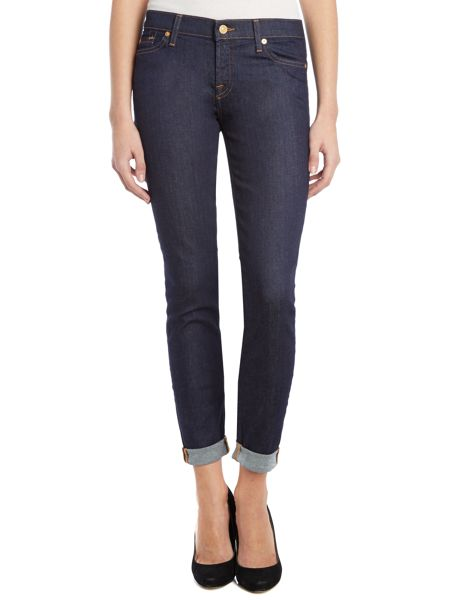 7 For All Mankind The Skinny jeans in Bahamas Rinse