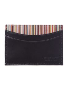 Multistripe card holder