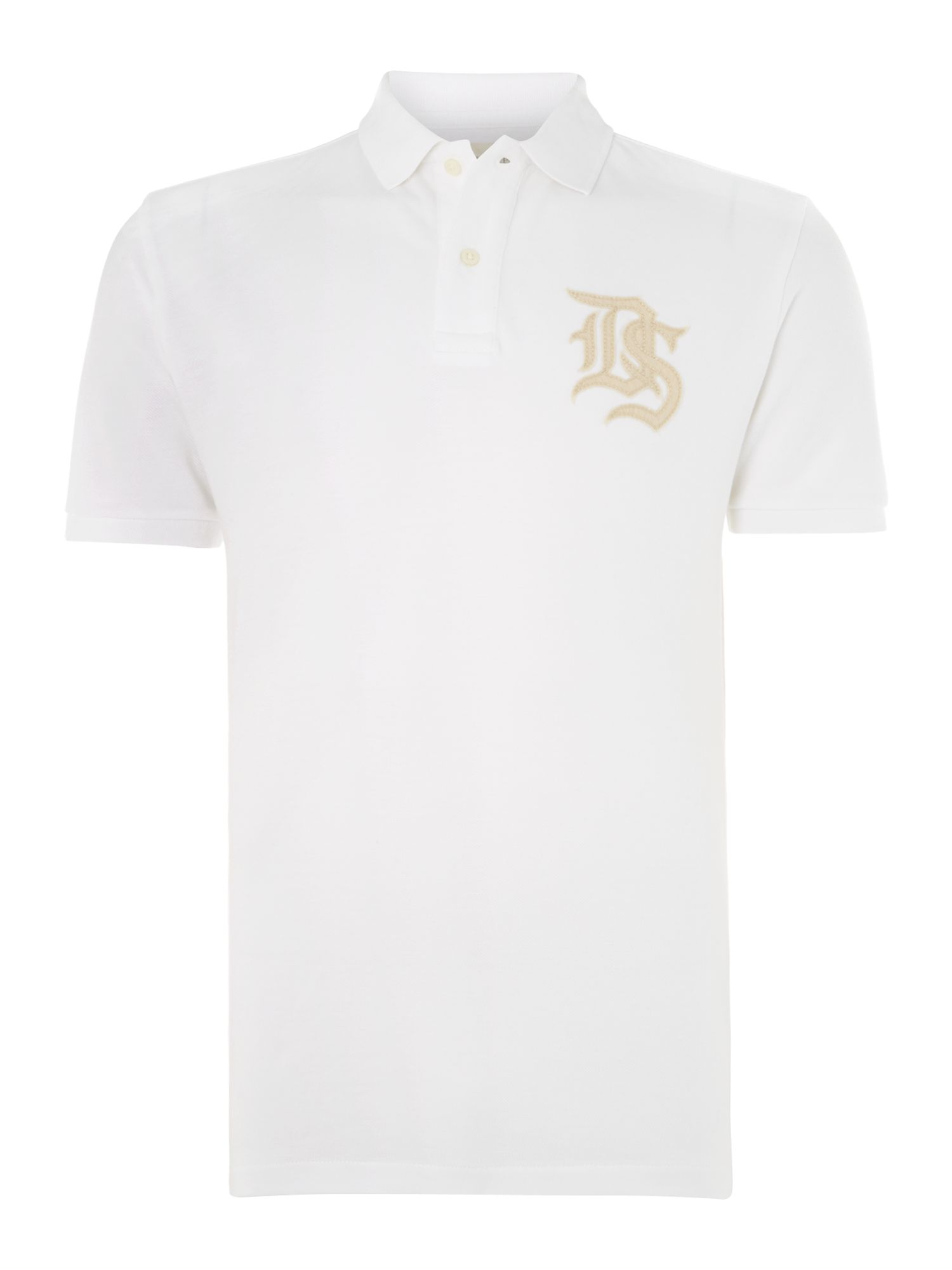 Short sleeve ds logo polo shirt