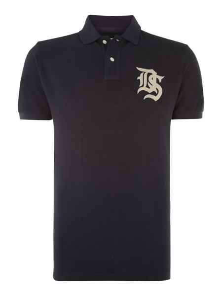 Denim and Supply Ralph Lauren Short sleeve ds logo polo shirt