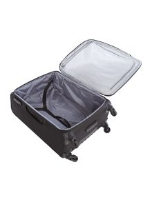 Cyberlite black & silver medium rollercase