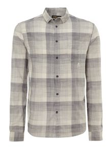 Payne expanded check shirt
