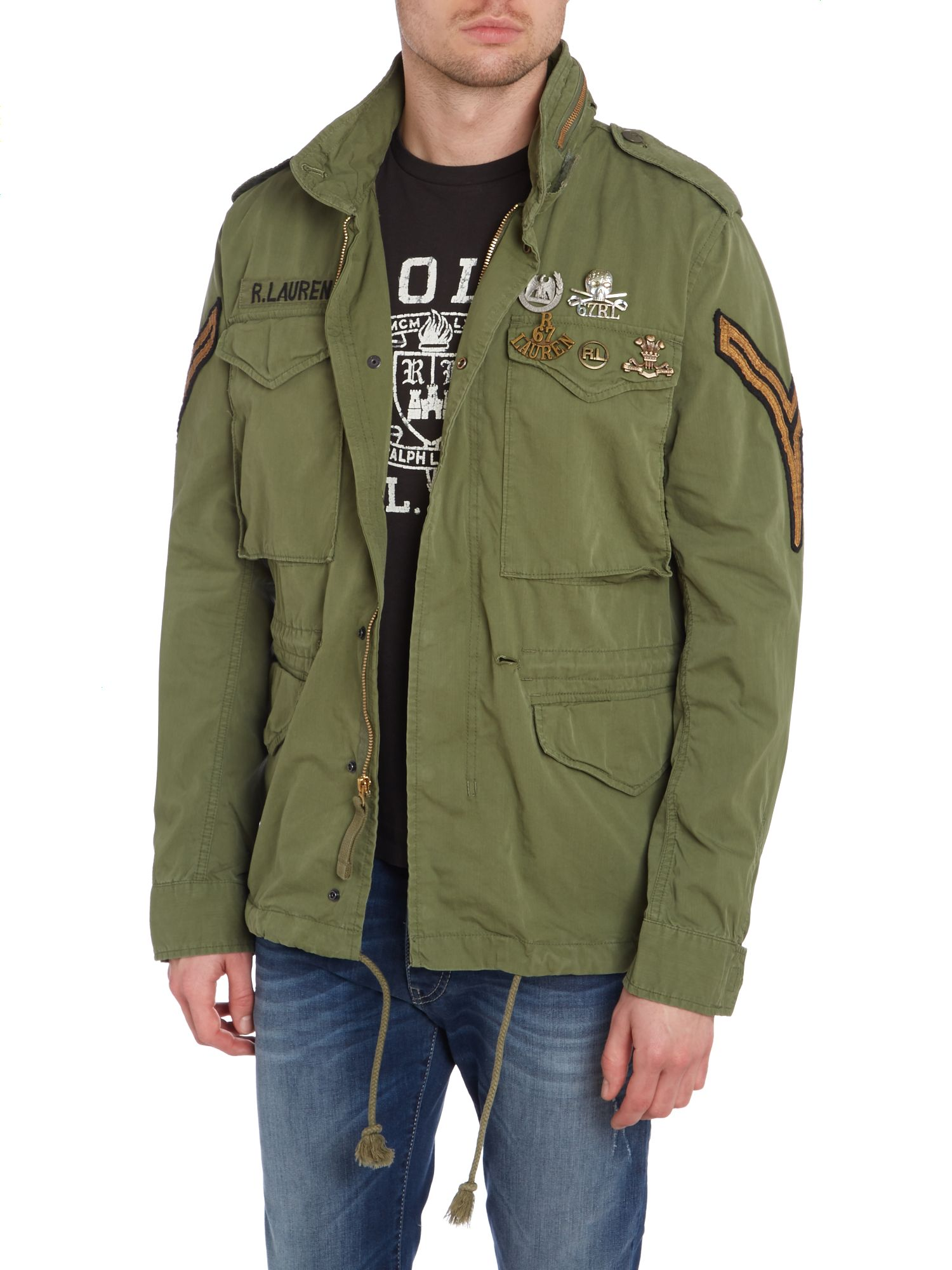 Officers field jacket