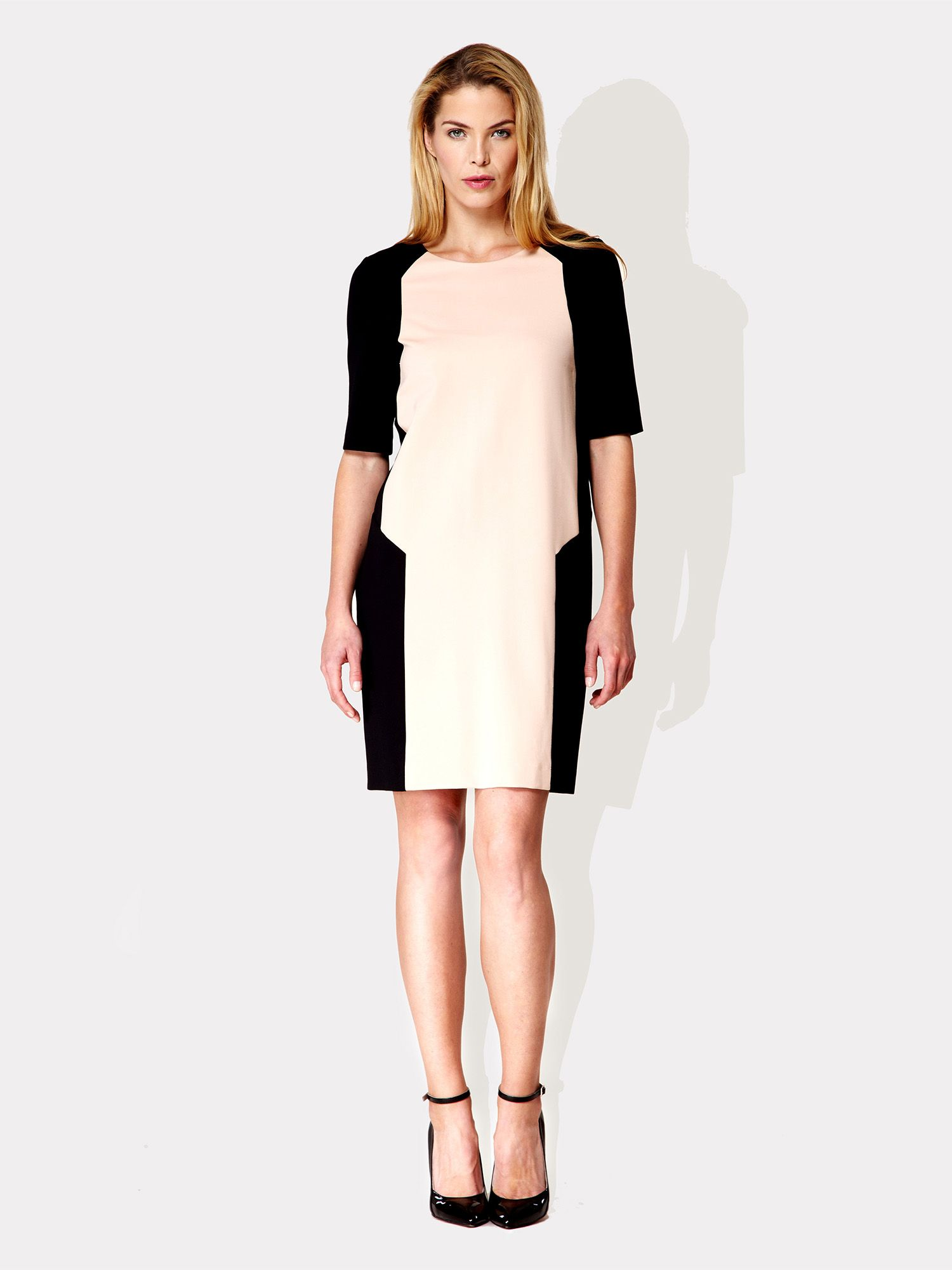 Piet colour block dress