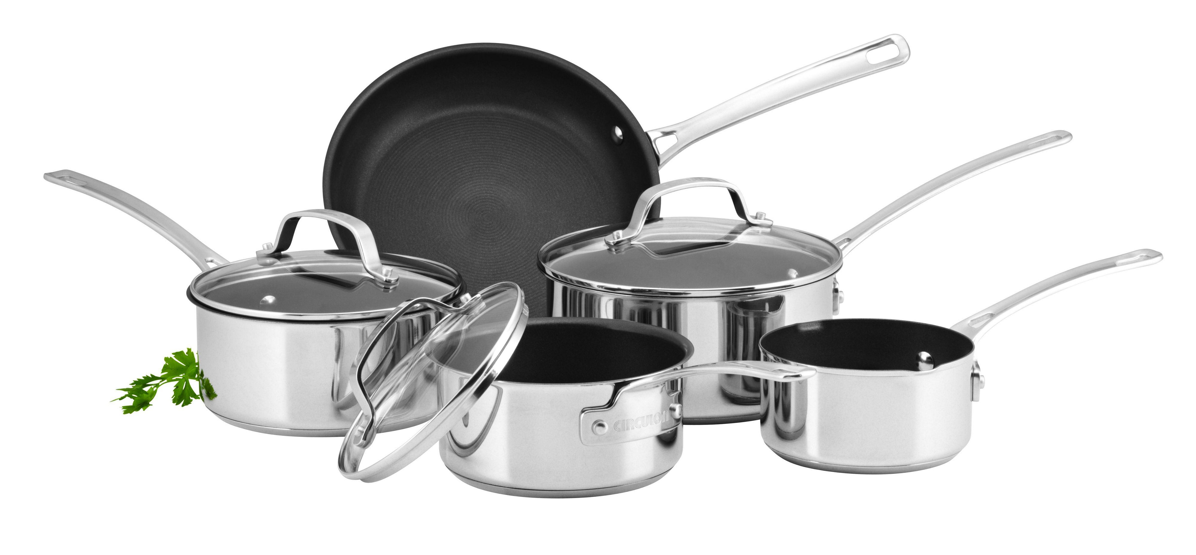 Circulon Genesis 5 piece pan set