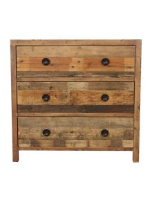 Kennedy 3 drawer wide chest