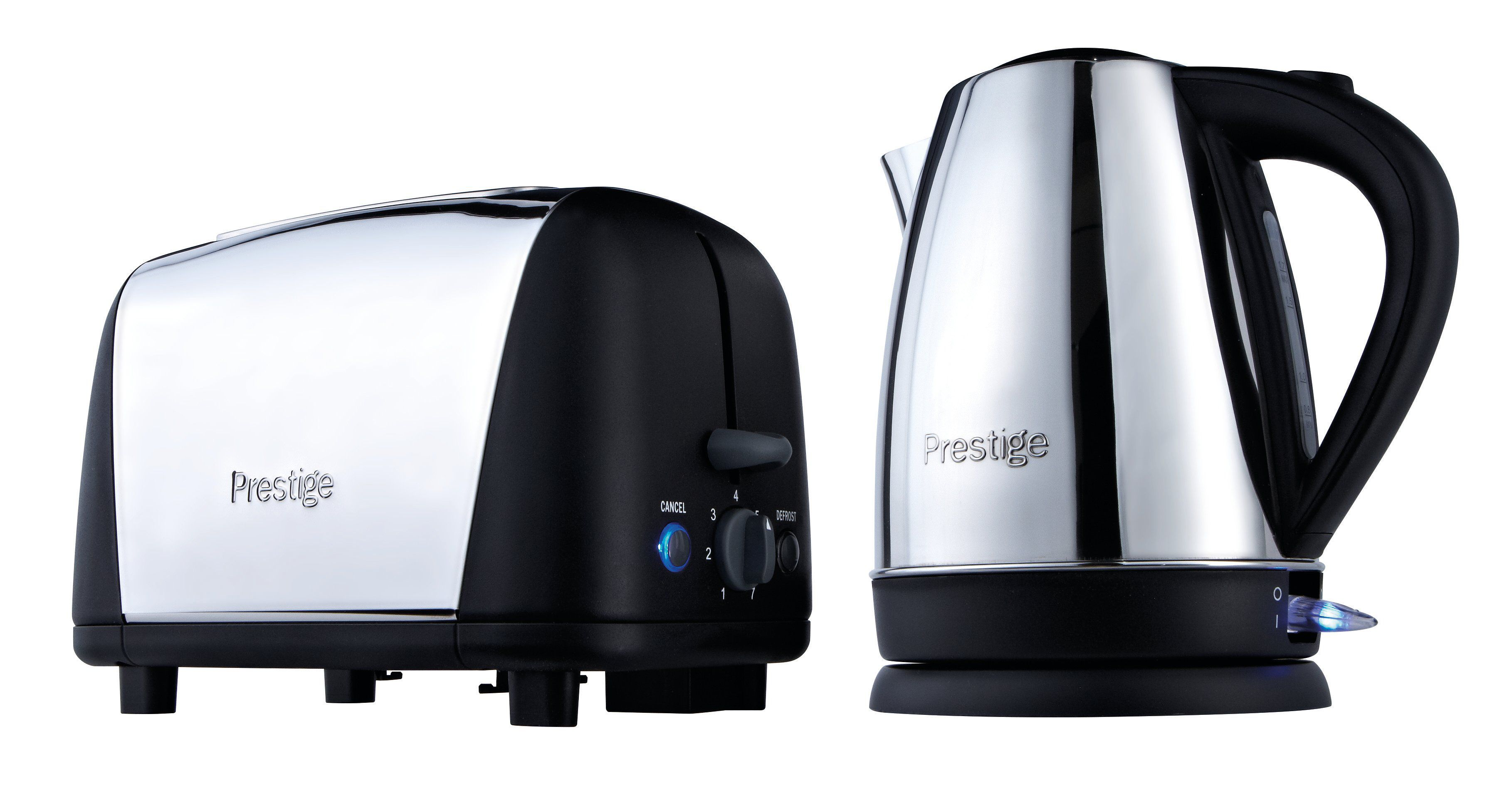 Kettle & Toaster Breakfast Set Black