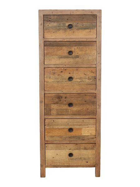 Linea Kennedy 6 drawer tall chest