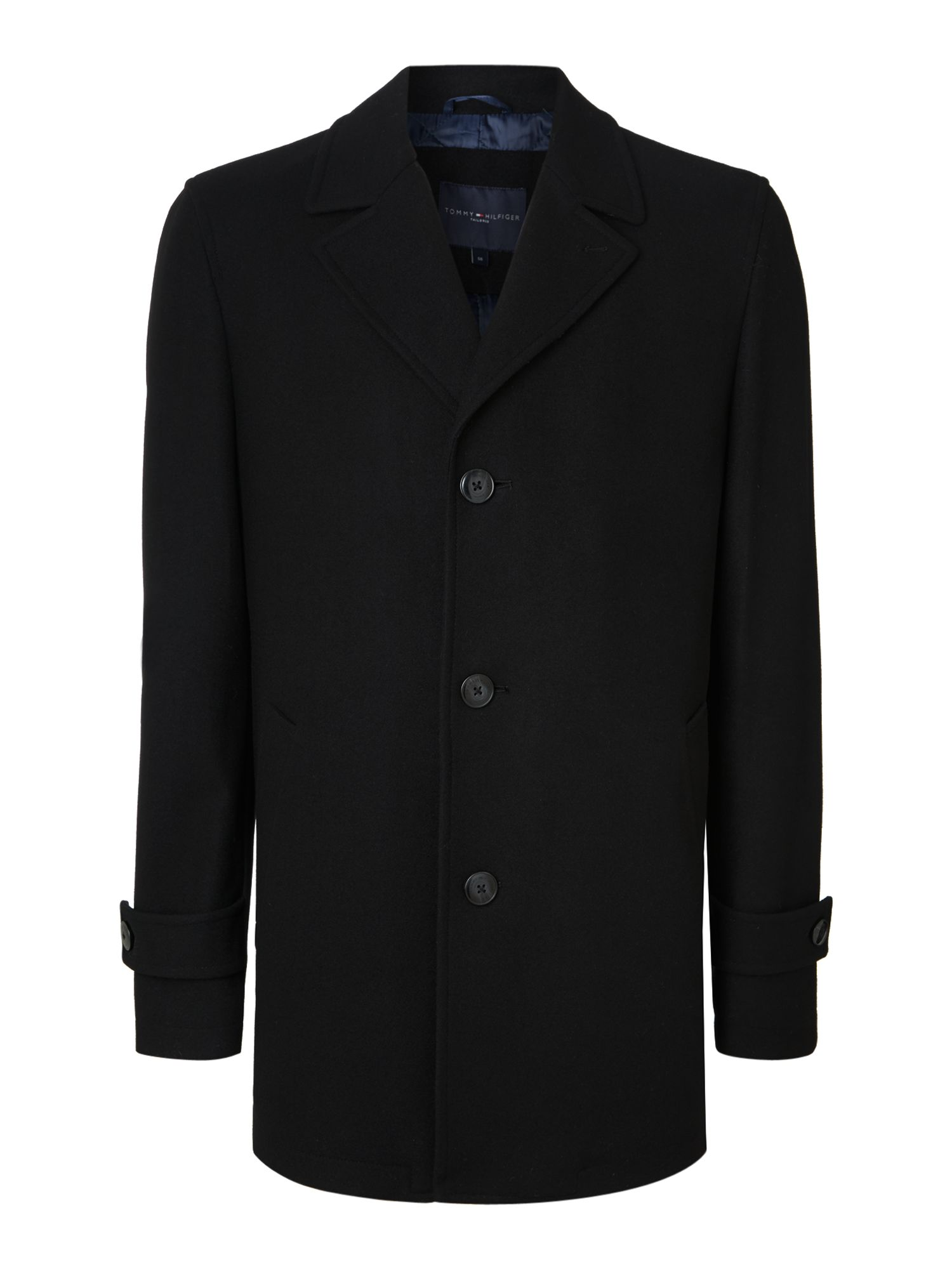 Dylon regular fit wool car coat