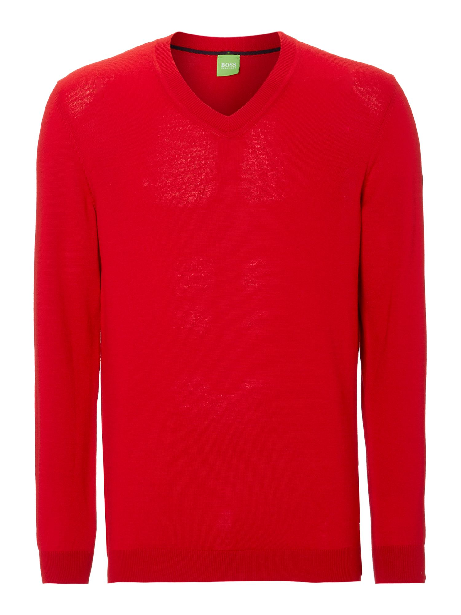 Vee neck merino jumper