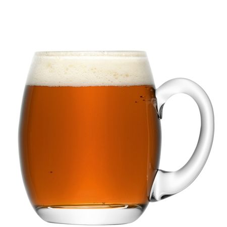 LSA Bar Beer Tankard 500ml Clear