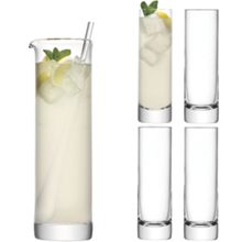 Bar Long Drink Set,  1.6L 250ml Clear