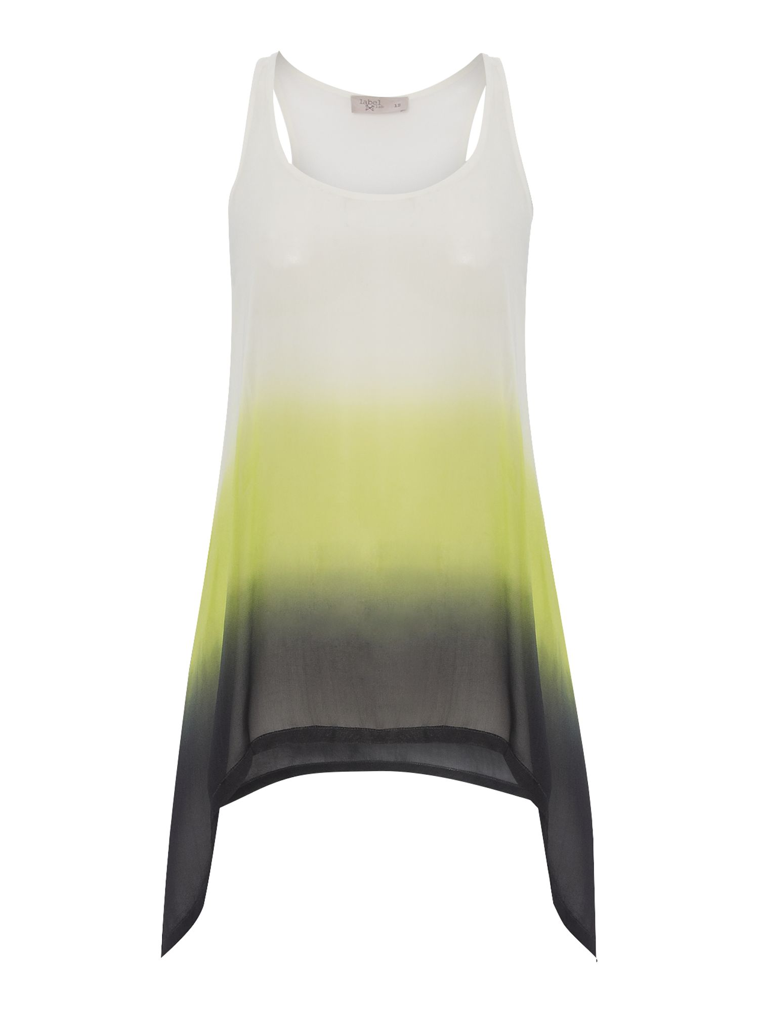 Dip dye Woven Sleeveless Top
