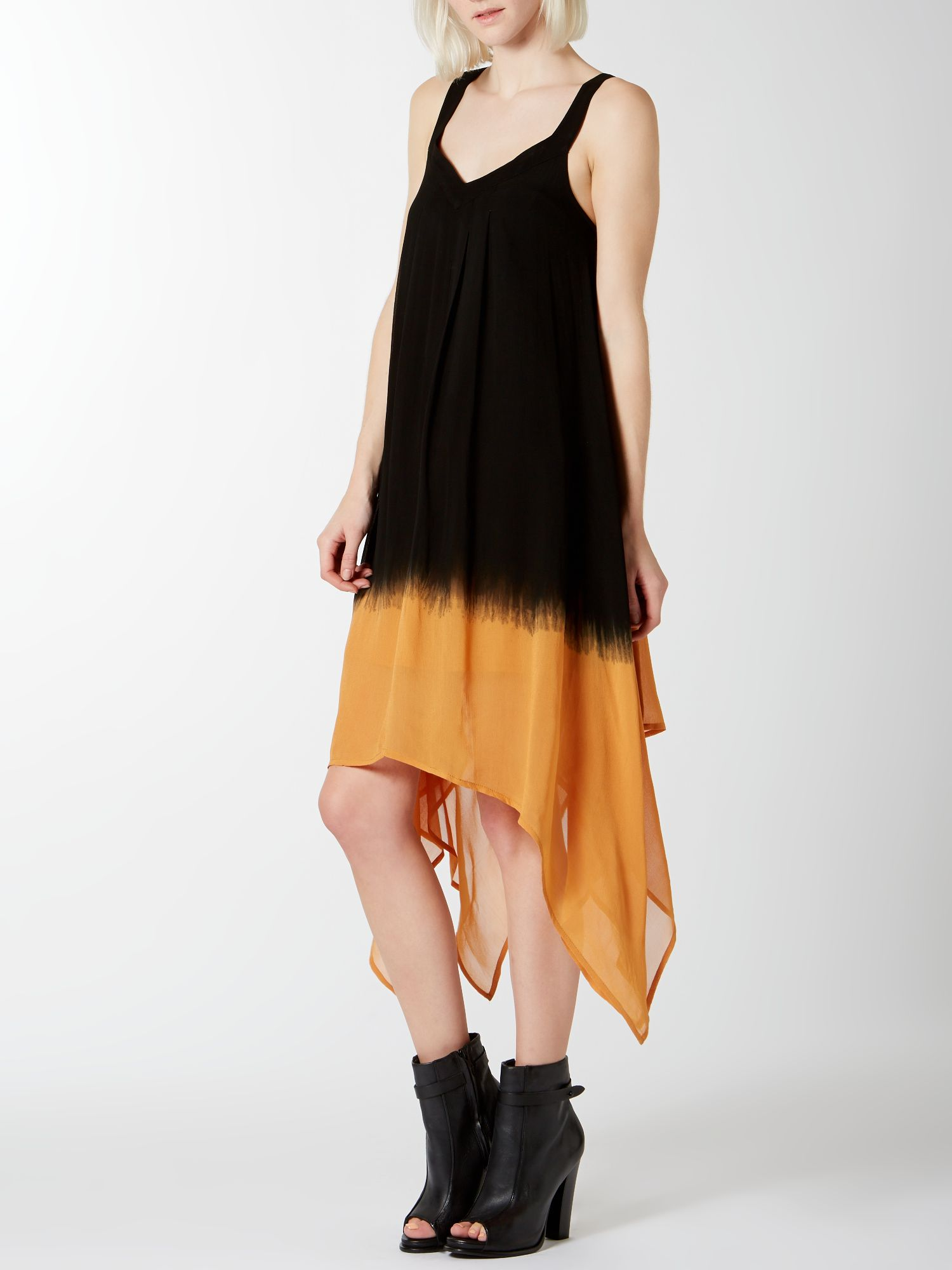 Dip Dye Swing Dress
