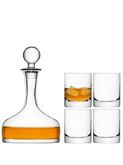 Bar Whisky Set 1.6L/250ml Clear