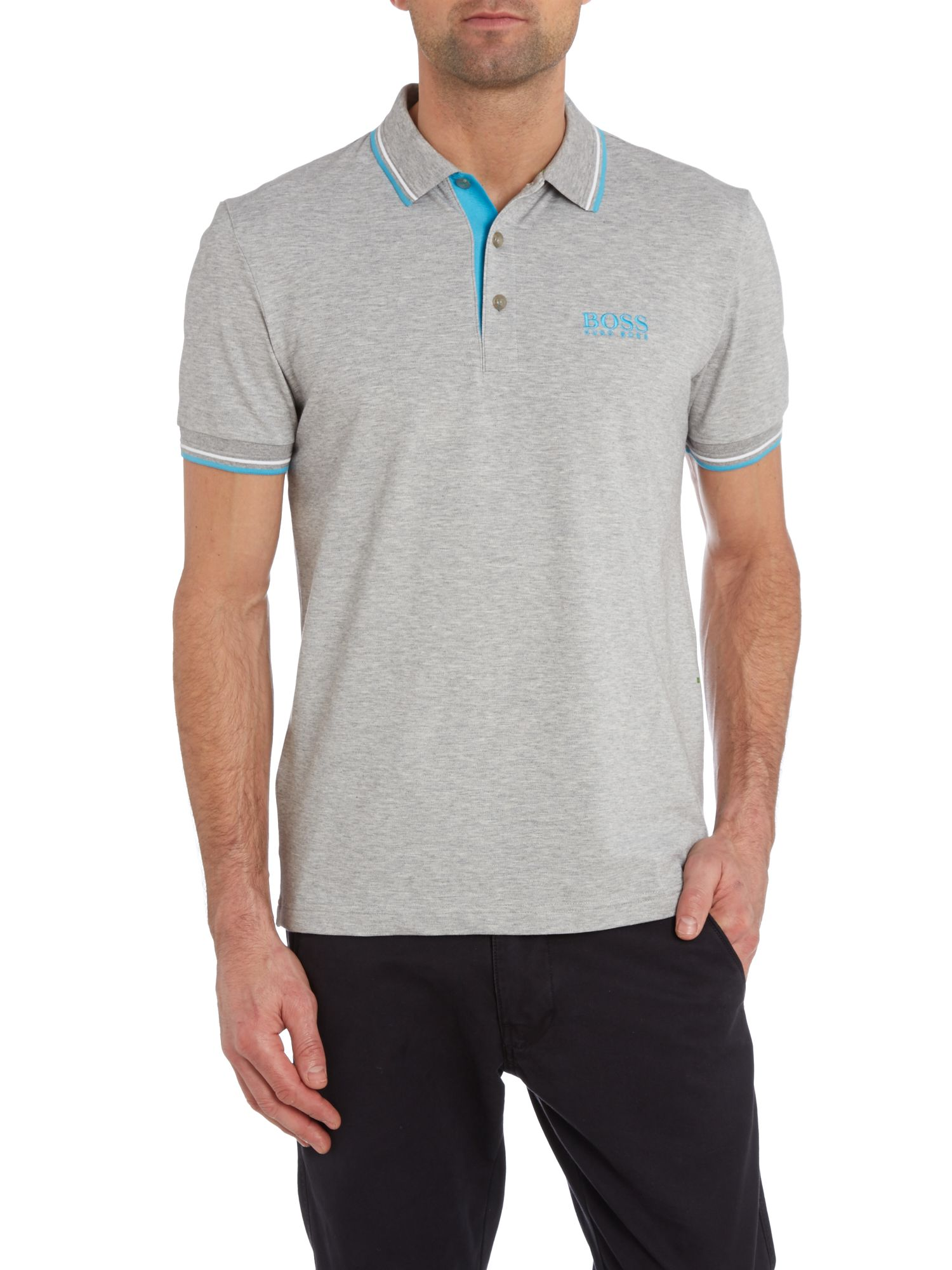 Golf logo polo shirt