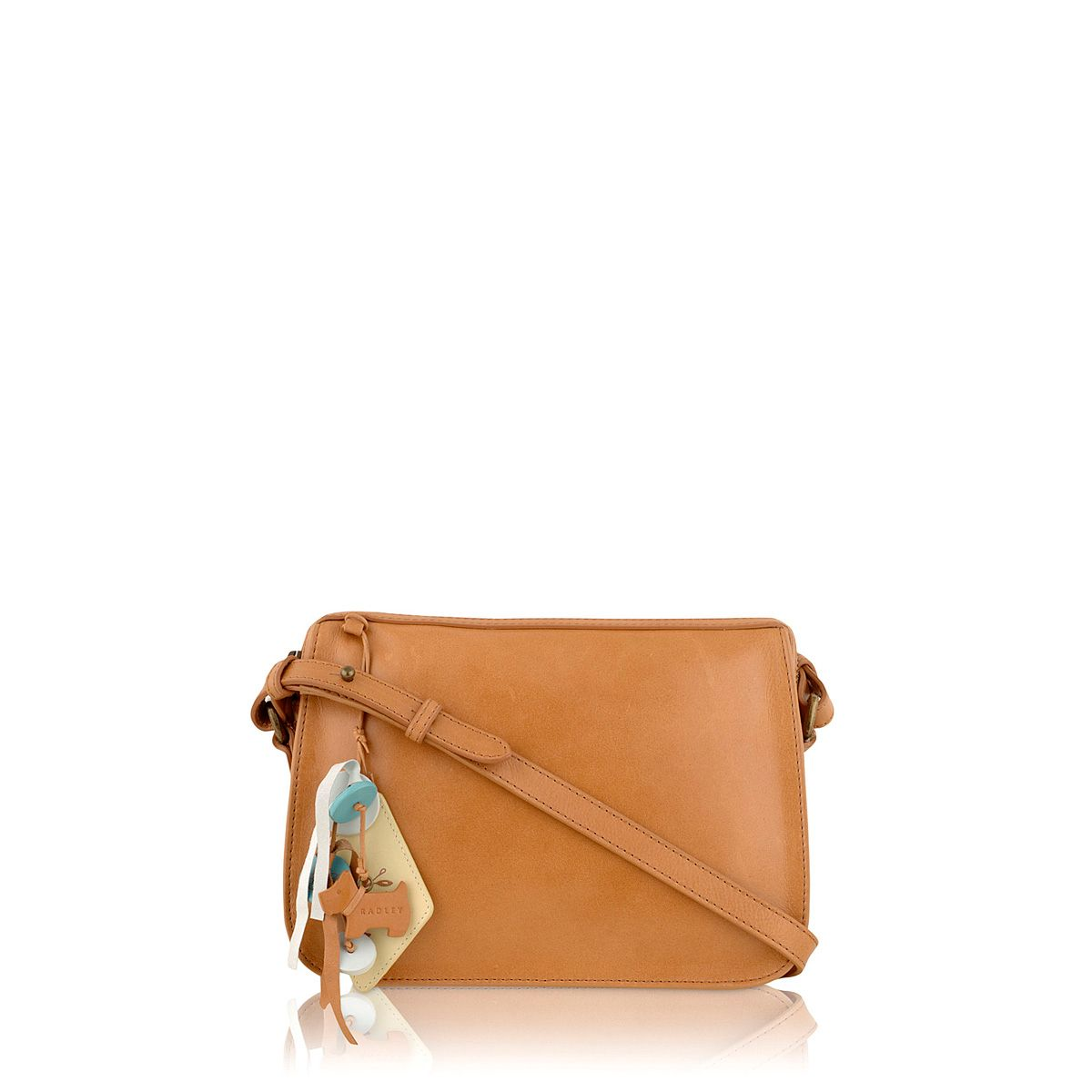Tan small cross body