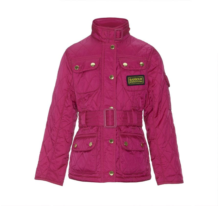 Girl`s International Quilt jacket
