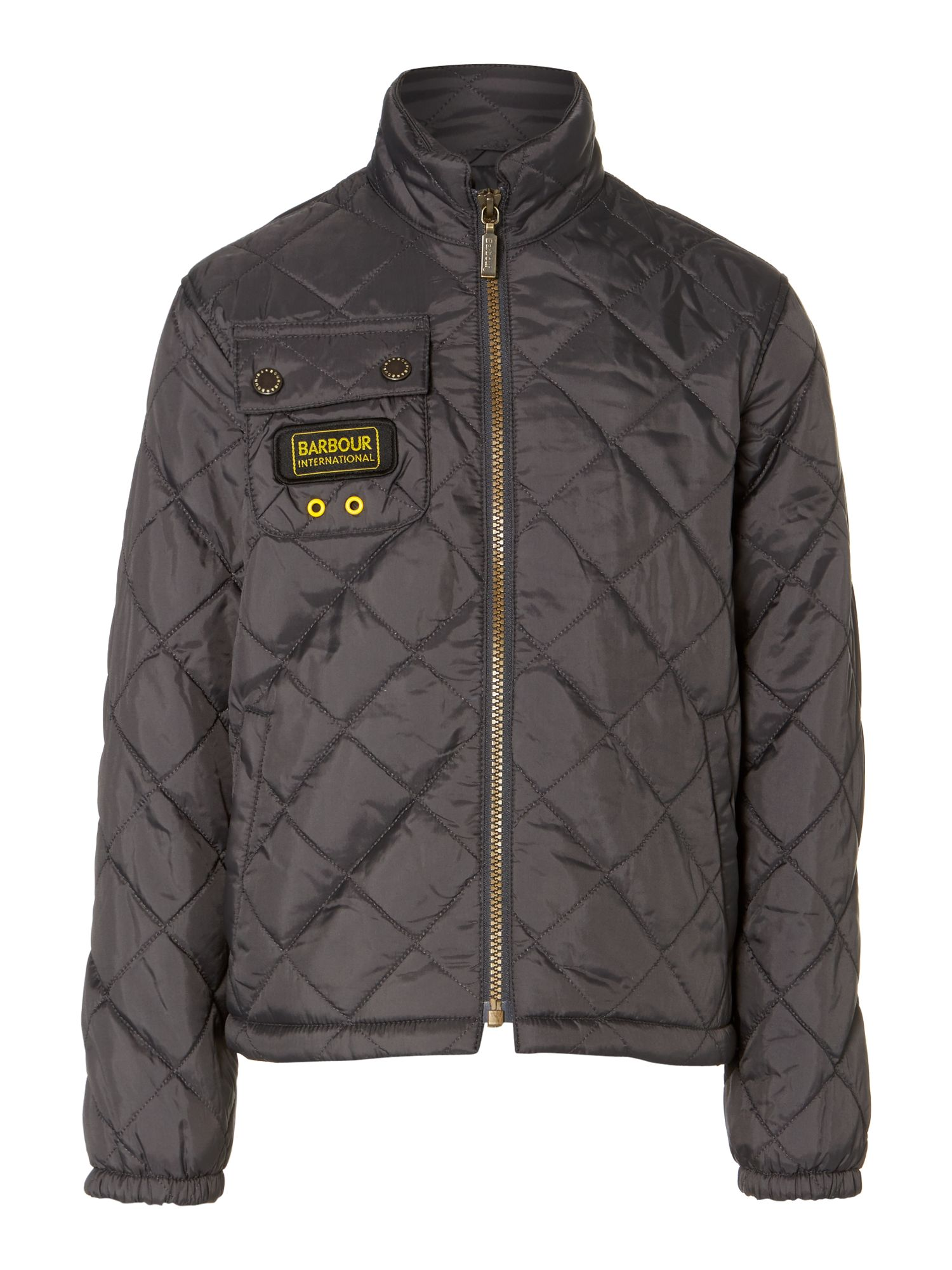 Boy`s Bowmore International quilted jacket