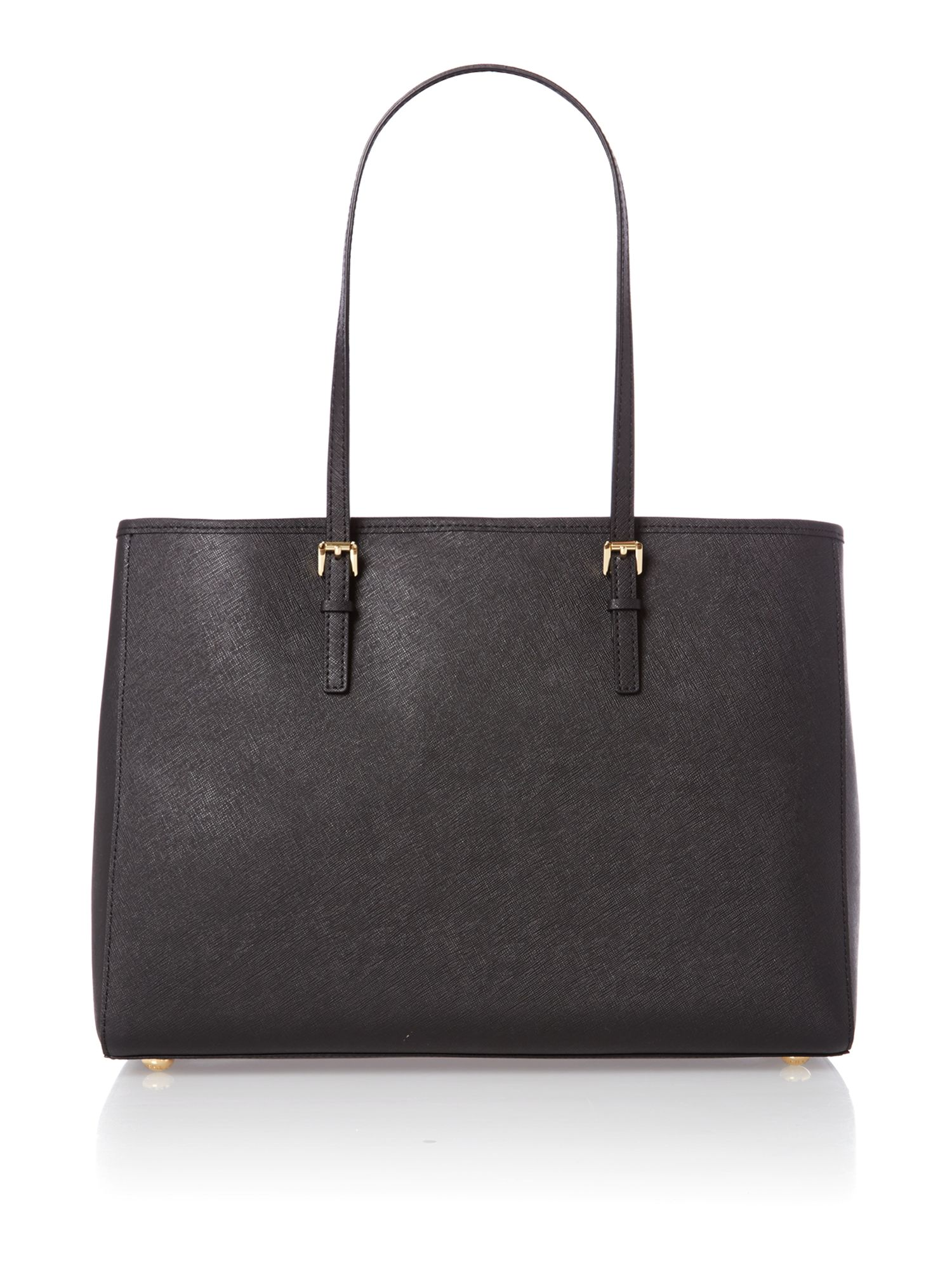 Jet set travel medium black tote bag