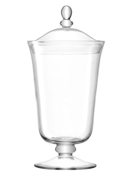 LSA Serve Bonbon Jar H38cm Clear