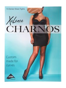 Charnos Xelence Plus Size 15 denier sheer tights